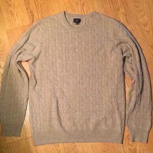 J.Crew Cariaggi Italian Cashmere Sweater